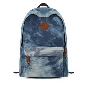 Denim Dye Blue Backpack