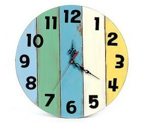 Original Eco-friendly Wooden Wall Clock